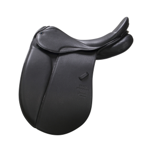 "Dressage Saddle Genesis 17,5"" black"