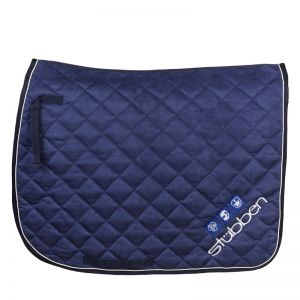 Saddle cloth dressage velour
