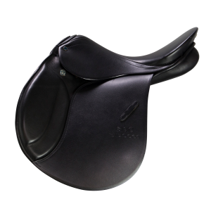 "Jumping Saddle Roxane 17"" black"