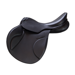 "Jumping Saddle Genesis CS 17"" black"