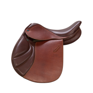 "Youth Jumping Saddle Portos 15 3/4"" havanna"