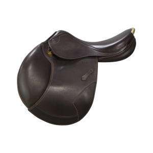 "Jumping Saddle Portos Elite 17"" ebony"