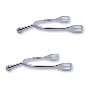 1137 Ladies German spurs with smooth rowel