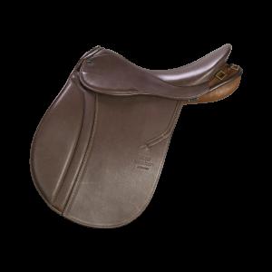 "Pleasure Riding Saddle Scout 18"" mocca"