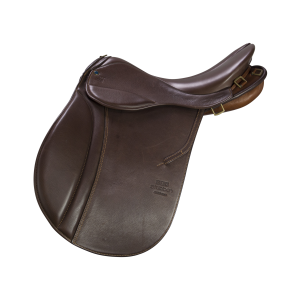 "Pleasure Riding Saddle Scout 18"" mocca"