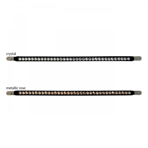Bling for browband Magic Tack long straight, one row