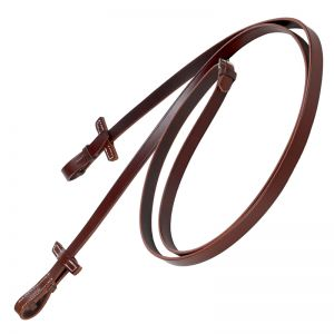 Leather reins plain, narrow