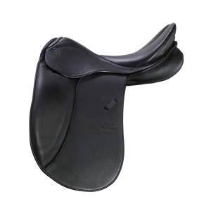 "Dressage saddle Aramis 17,5"" black"