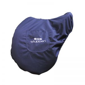 Saddle cover with saddle girth pockets