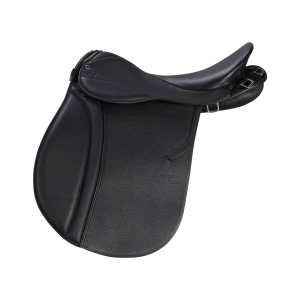 "Pleasure Riding Saddle Scout 18"" black"