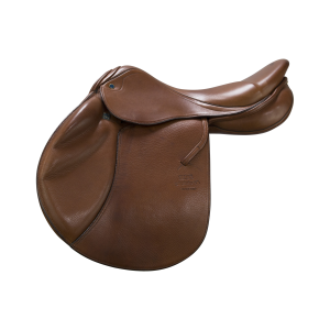 "Jumping Saddle Zaria de Luxe 17,5"" tobacco"