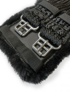 Cord Girth with padded stainless steel buckles