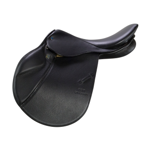 "Jumping Saddle Edelweiss 17"" black"